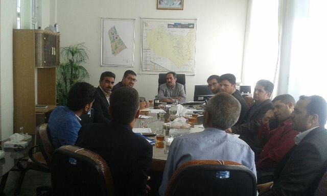 جلسه ستاد تامين مسكن مهر شهرستان